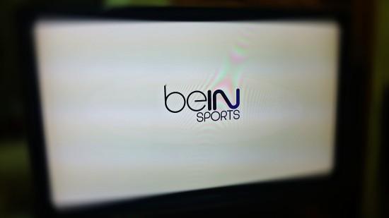 شعار Bein sport على شاشة التلفاز