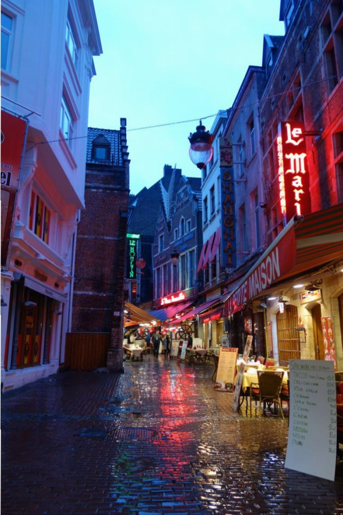 مدينة بروكسل البلجيكيه ، أب هولندي وأمفرنسيه
