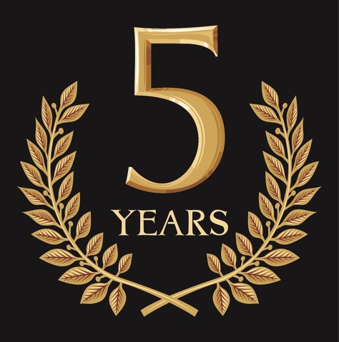 خمس سنوات من التدوين!