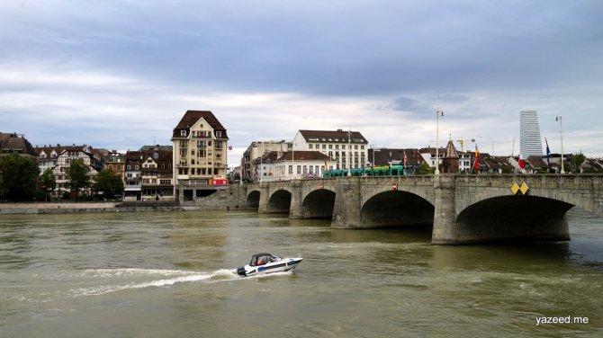 كولمار الفرنسية و بازلالسويسرية