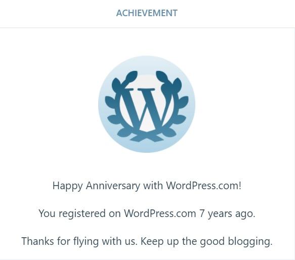 سبعة أعوام منالتدوين